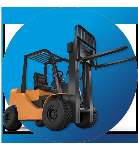 Forklift Rentals - McQuaid's Mobile Storage PEI